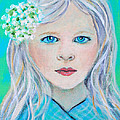 Madelyn Little Angel Of Clear Vision by The Art With A Heart By Charlotte Phillips