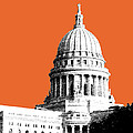 Madison Capital Building - Coral by DB Artist