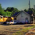 Madison Georgia Historic Train Station by Reid Callaway