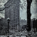 Madison Square And The Flatiron Building by Chris Lord