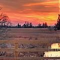 Madison Sunset by Marcel  J Goetz  Sr