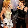 Madonna And Britney Spears  by Viola El