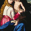 Madonna And Child by Alessandro Allori