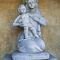 Madonna And Child Carmel Mission Monterey California by Barbara Snyder