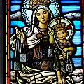 Madonna And Child by Ed Weidman