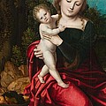 Madonna And Child by Master of the Parrot