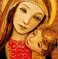 Madonna And Child by Shijun Munns
