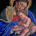 Madonna And Child by Terry Sita