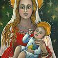 Madonna With Baby Jesus by Vera Zales