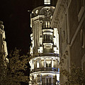 Madrid At Night by Mary Machare