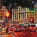 Madrid City by Cary Shapiro
