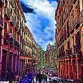 Madrid Life by Cary Shapiro