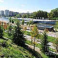 Madrid River Park by Ted Pollard