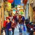 Madrid Shopping Spree by Cary Shapiro