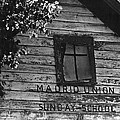 Madrid Union Sunday School Ghost Town Madrid New Mexico 1968-2008 by David Lee Guss