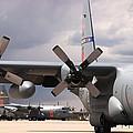 Maffs C-130s At Cheyenne by Bill Gabbert
