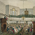 Magdalen Chapel by Pugin And Rowlandson