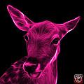 Magenta Deer - 0401 F by James Ahn