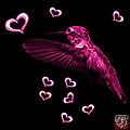 Magenta Hummingbird - 2055 F by James Ahn