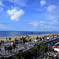 Magic Clouds At Huntington Beach by Clayton Bruster