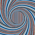 Magic Colorful Abstract Twisted Background by Nenad Cerovic