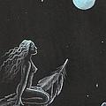 Magic Crow Feather by Margaryta Yermolayeva