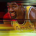 Magic Johnson by Marvin Blaine