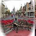 Magic Kingdom Walt Disney World 3 Panel Composite by Thomas Woolworth