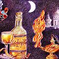Magic Lamp Wine by Candace  Hardy