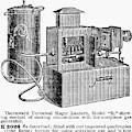 Magic Lantern, 1900 by Granger