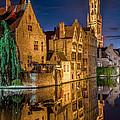 Magic Of Bruges by Yury Loginov