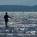 Magical Day On Jetty Island II by Ann Michelle Swadener