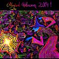 Magical Halloween 2014 V4 by Alex Art and Photo