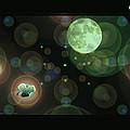 Magical Moonlight Clover by LeeAnn McLaneGoetz McLaneGoetzStudioLLCcom