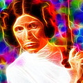 Magical Princess Leia by Paul Van Scott