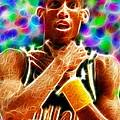 Magical Reggie Miller Choke by Paul Van Scott