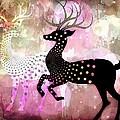 Magical Reindeers by Barbara Orenya
