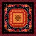 Magical Rune Mandala by Liane Wright
