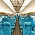 Maglev Train In Shanghai China by Jacek Malipan