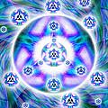 Magnetic Fluid Harmony Banner by Derek Gedney