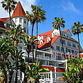 Magnificent Hotel Del by Denise Mazzocco