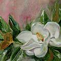 Magnolia Blossom by Sarah Parks