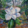 Magnolia's Flower by Nuria Vives