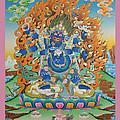 Mahankal Thangka Art by Ts