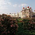 Maharaja's Palace And Garden India Mysore by Carol Ailles