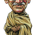 Mahatma Gandhi by Art
