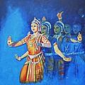 Mahishaasura Mardini by Usha Shantharam