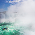 Maid Of The Mist Boat Tours Taking by Mike Theiss