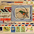 Mail Collage South Africa by Carol Leigh