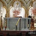 Main Altar Saint Jospehs Cathedral Buffalo New York by Rose Santuci-Sofranko